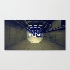 The End Canvas Print