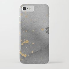 Gray and gold iPhone 7 Slim Case