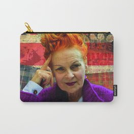 Vivienne Westwood London England Climate Carry-All Pouch
