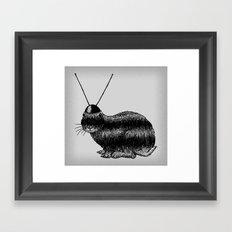 Fuzzy Reception Framed Art Print