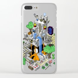 Mine City Clear iPhone Case