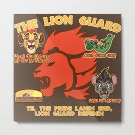 Lion Guard Metal Print