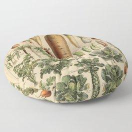 legume et plante potageres Floor Pillow
