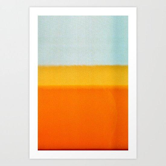 Film Burn II Art Print