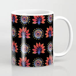 Peakocks Coffee Mug