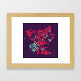 Panda The Wisdom - self employee Framed Art Print