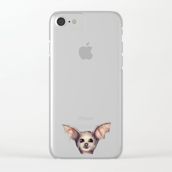 What the Fox? Clear iPhone Case