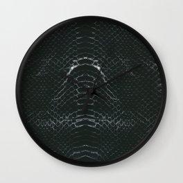 Skin #3_Serpent Black Wall Clock