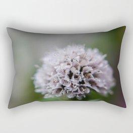 Purple Flower, Bellingham, WA Rectangular Pillow