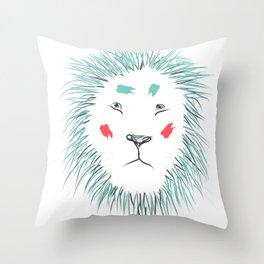 Samson the Lion Throw Pillow