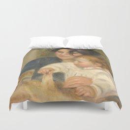 Gabrielle et Jean by Pierre-Auguste Renoir Duvet Cover