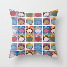 9x Marilyn  Throw Pillow