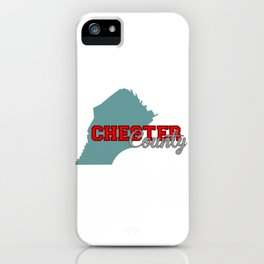 Chester County iPhone Case