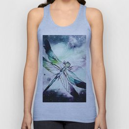 space dragonfly Unisex Tank Top