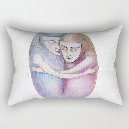 absolute togetherness Rectangular Pillow