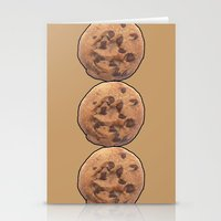 cookie Stationery Cards featuring Cookie by Spooky Dooky