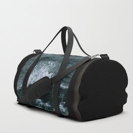 Wave out of a window of a ship – Minimalist Oceanscape Duffle Bag