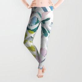 Awash | Colorful Geometric Print Leggings