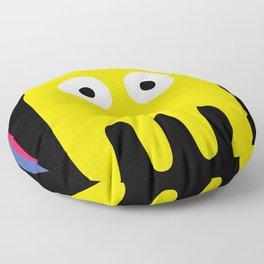 Pacman Enemy Floor Pillow
