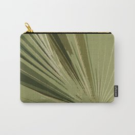 The Green Tones Of A Palm Frond Carry-All Pouch