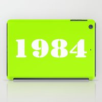 1984 iPad Cases featuring 1984 by TheWank