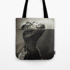 Baby crocodile Tote Bag