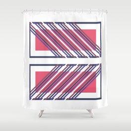 Re-Cadré Shower Curtain
