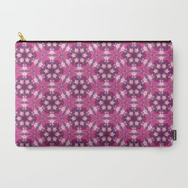 Pink Kaleidoscope Carry-All Pouch