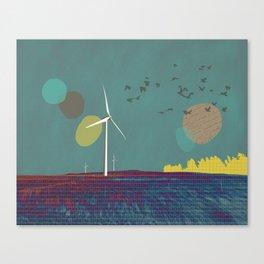 Go placidly Canvas Print