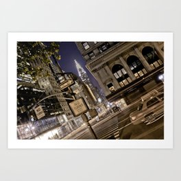 Chrysler Building - New York Artwork / Photography Art Print