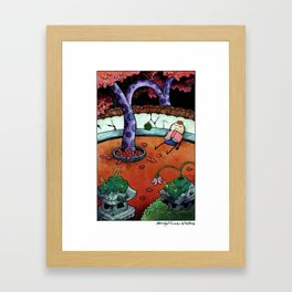 Just Resting My Eyes Framed Art Print
