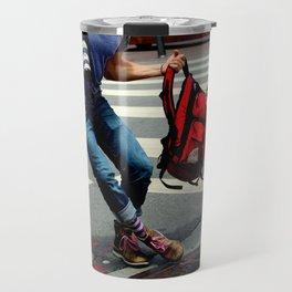 A Travelin' Man Travel Mug