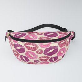 Pink Kisses Fanny Pack
