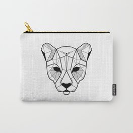 Geometric panther tattoo illustration Carry-All Pouch