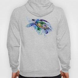 Swimming Sea Turtle Hoody