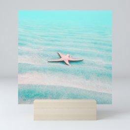 sea star Mini Art Print