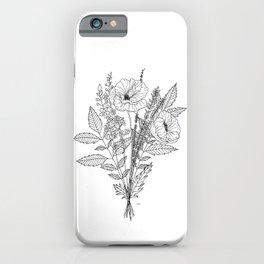 Plant Magic: Sleep iPhone Case