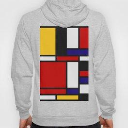 Mondrian De Stijl Art Movement Hoody