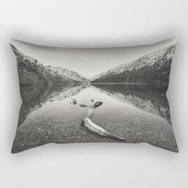 Glendalough Upper lake - Ireland (RR5) Rectangular Pillow