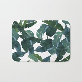 Banana Leaf Decor #society6 #decor #buyart Bath Mat