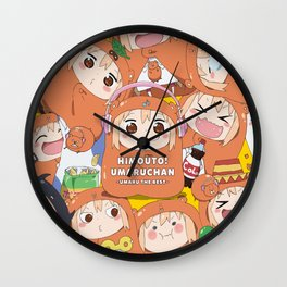 Himouto! Umaru-chan 18 Wall Clock