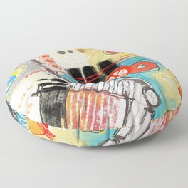 Abstract shapes Floor Pillow