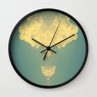 dumbo Wall Clocks featuring Dumbo  by Devin Stout