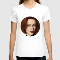 scully T-shirts featuring Scully by Alexia Rose