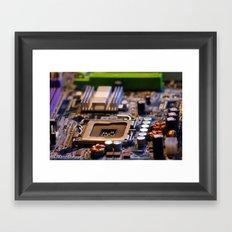 transistorville Framed Art Print