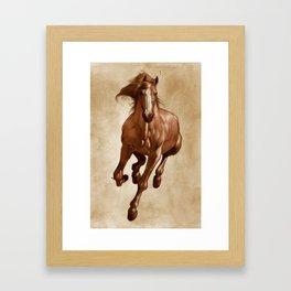 Sherman Framed Art Print