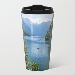 Germany, Malerblick, Koenigssee Lake III- Mountain Forest Europe Travel Mug
