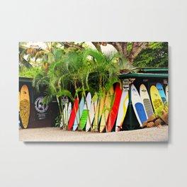 North Shore Surf '14 Metal Print