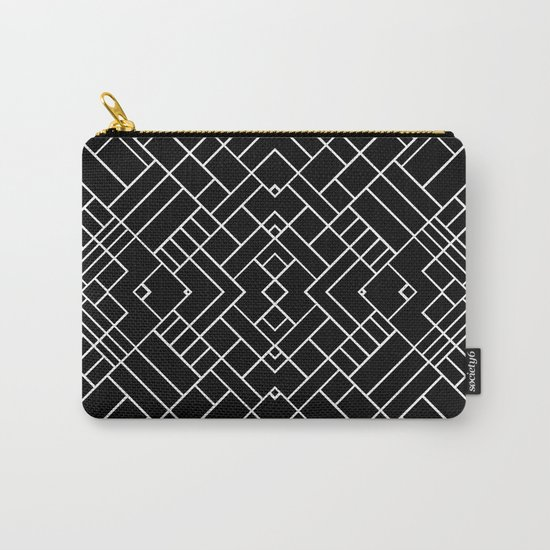 PS Grid 45 Black Carry-All Pouch