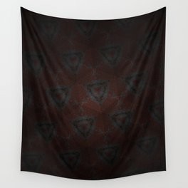 Shadow Triangles Wall Tapestry